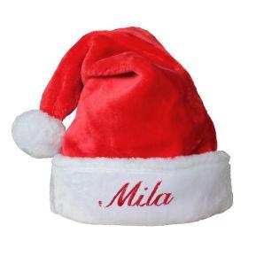 Kuschelweiche Weihnachtsmütze für Kinder