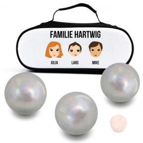Tasche für Boule-Kugeln We Are Family