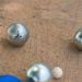 Boule-Spiel mit Gravur