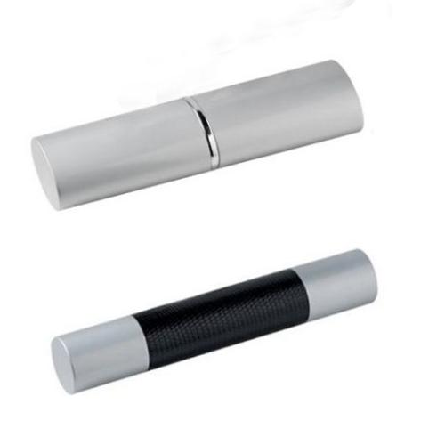Box aus Metall flach und rund