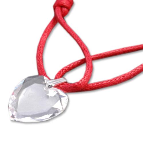 Armband Kristall Herz