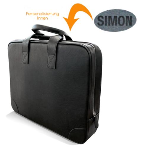 Business-Tasche mit gravur innen