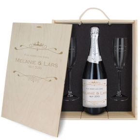 3-teiliges Champagner-Set Luxury