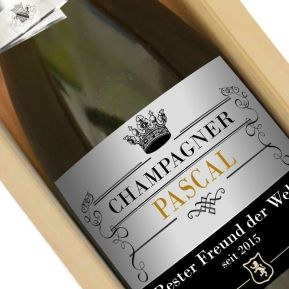 Personalisierte Champagner-Flasche Royale