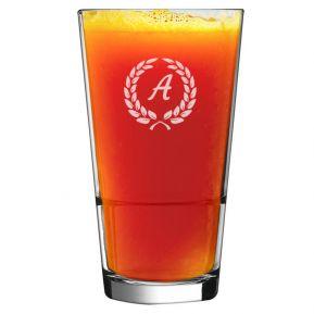 Graviertes Cocktailglas mit Initialen