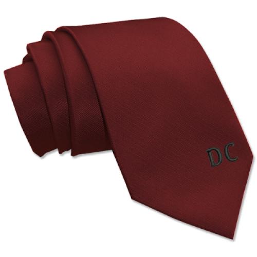 Krawatte mit individueller Bestickung