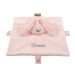 Schmusetuch Häschen mit Name rosa