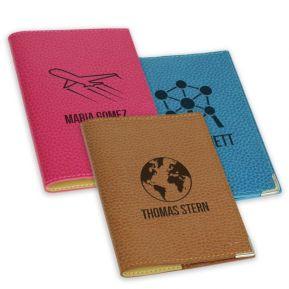 Personalisierter Etui Leder für Reisepass