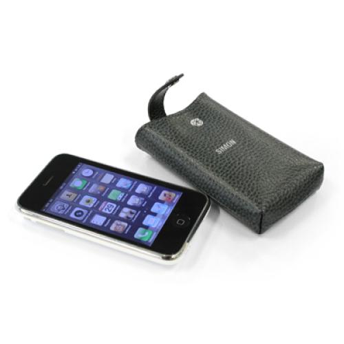 iPhone Hülle Leder mit Gravur