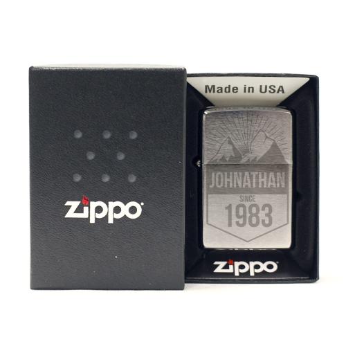Feuerzeug Zippo®  Motiv Mountain
