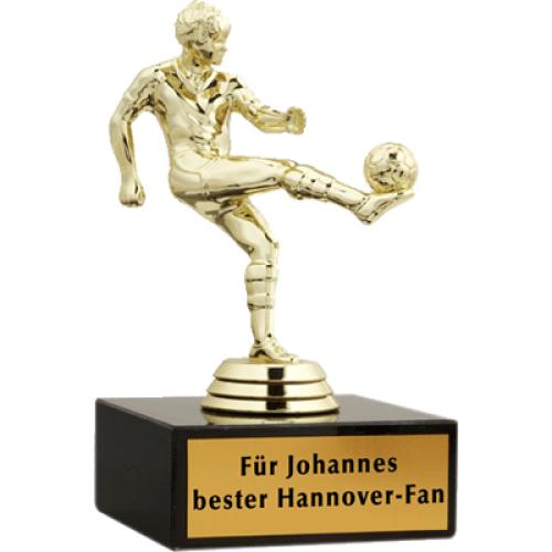 Fußballer Statue