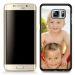 Foto-Schale für Galaxy S6 schwarz