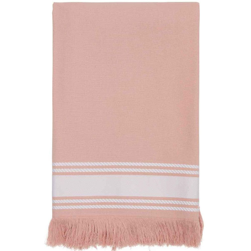 Fouta Tuch Misty Rose mit Name personalisiert