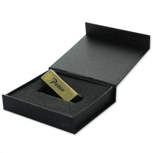 Geschenkbox USB-Schlüssel - Goldbarren