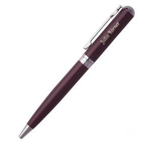 Kugelschreiber Cacharel Tourbillon Bordeaux mit Gravur