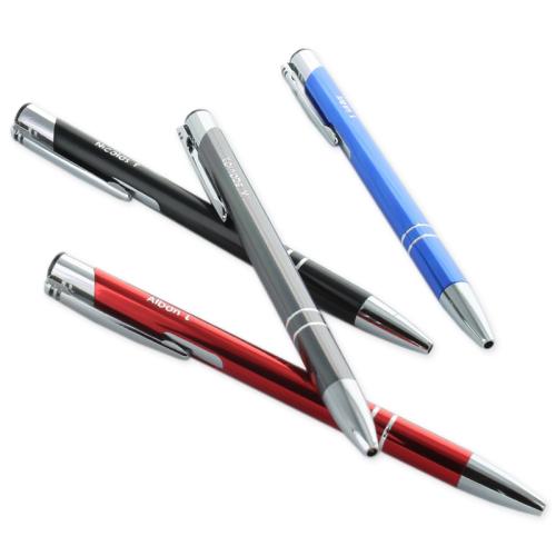 Gravierter Kugelschreiber - verschiedene Farben