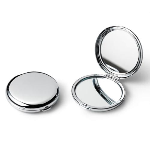 Gravierter Taschenspiegel - rund