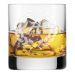 Graviertes Whiskyglas mit Initialen Lorbeer