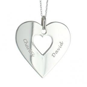 Halsband Herz