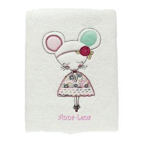 Handtuch Maus mit Name
