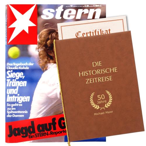 Historische Zeitschrift mit Mappe