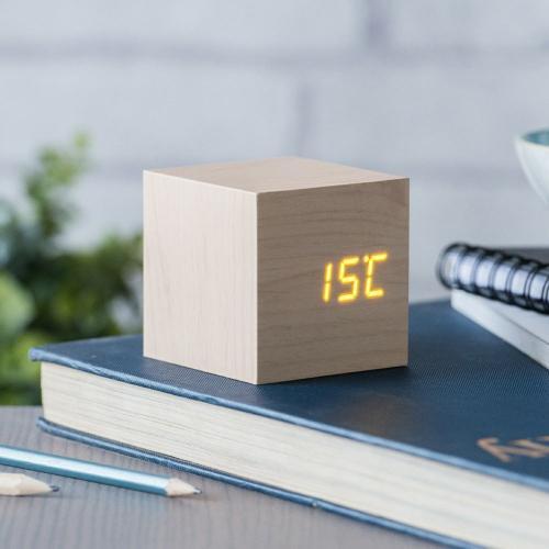 Holzwecker Würfel Temperatur