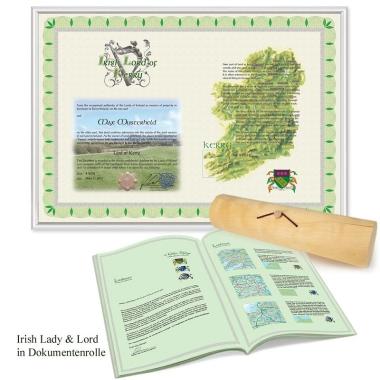 Personalisierter Irish Lord Titel