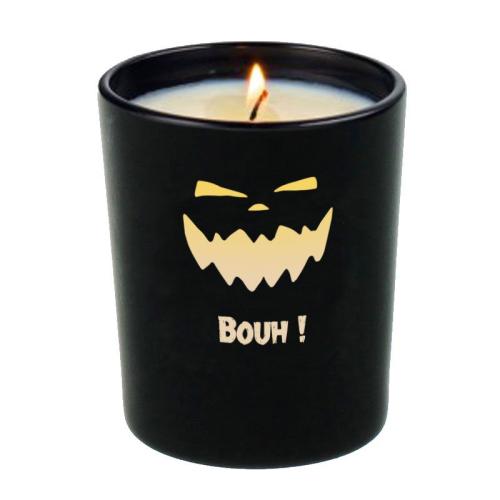 Kerze Halloween Monster an