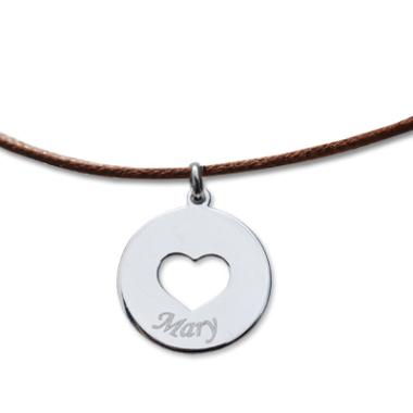 Halskette Herz mein Schatz 2