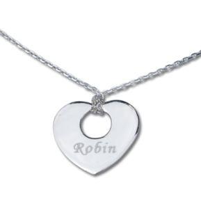 Halskette Herz mein Schatz 1