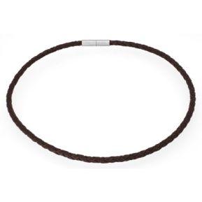 Halsband Leder braun