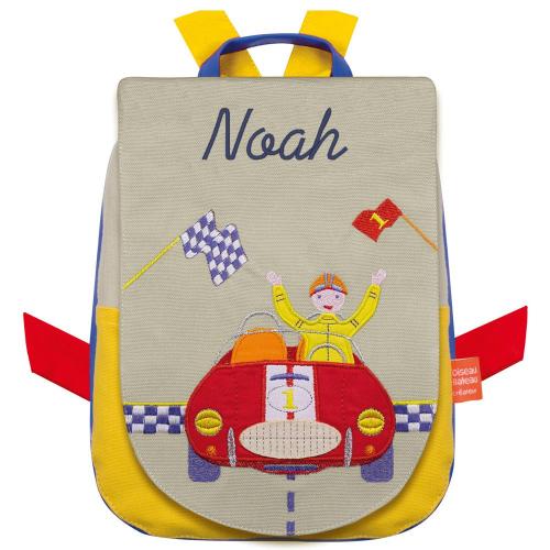 Kindergartentasche Auto mit Name