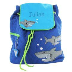 Kinderrucksack Haifisch mit Name