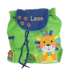 Kinderrucksack Löwe mit Name
