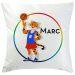 Kissen mit Personalisierung Mein Sport Basketball