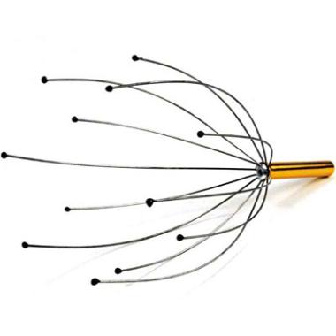 Kopf-Massage-Spinne