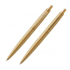Kugelschreiber Parker Jotter mit Gravur goldfarben