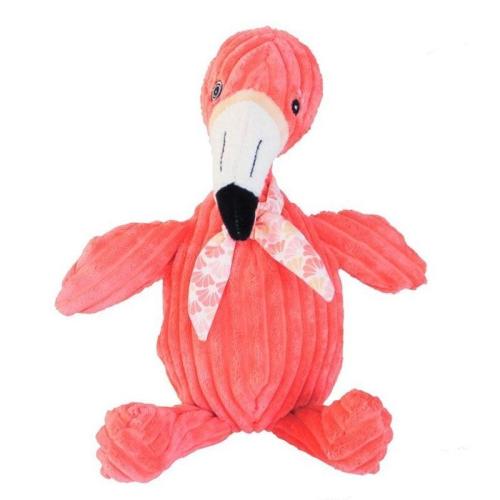 Kuscheltier Les Déglingos Flamingos der Flamingo