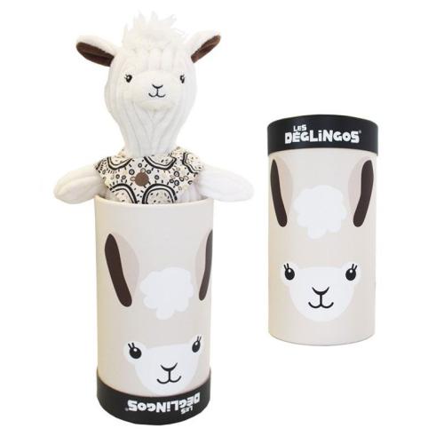 Kuscheltier Les Déglingos Muchachos das Lama
