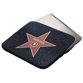 Personalisierbare Hülle für Tablets und Laptops Walk-of-Fame-Stern