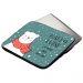 Laptop- oder Tabletthülle Weihnachtsparty Seite