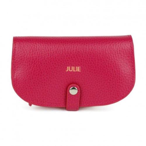 Schmucktasche aus Leder mit Personalisierung