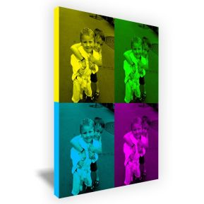 Leinwand Pop Art Portrait modern