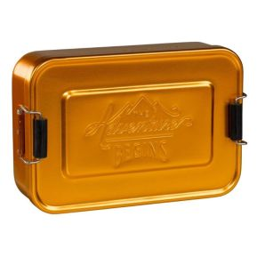 "Goldfarbene Lunchbox Gentlemen's Hardware ""The Adventure Begins"""