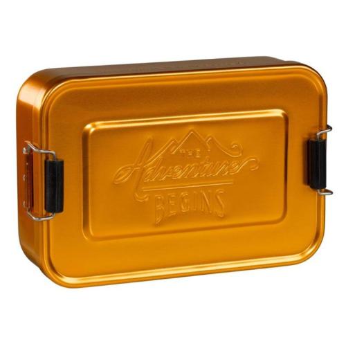 Lunchbox goldfarben Gentlemen's Hardware