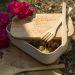 Lunchbox im Garten