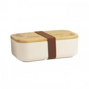 Personalisierte Lunchbox aus Bambus