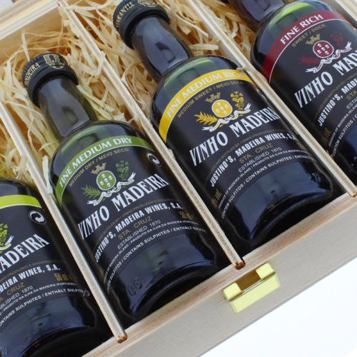 Madeira-Wein Geschenk-Set Details