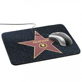 Mousepad Walk-of-Fame-Stern