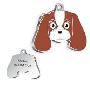 Gravierte Hundemarke Cavalier King Charles